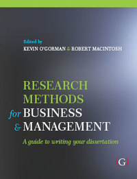 Dissertation skills for business and management studies